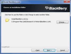 Blackberry restore step 8